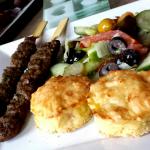 Aardappeltaartjes en Adana Kebab