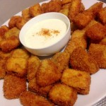 Aubergine nuggets