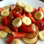 Gezonde oatmeal pancakes met kwark