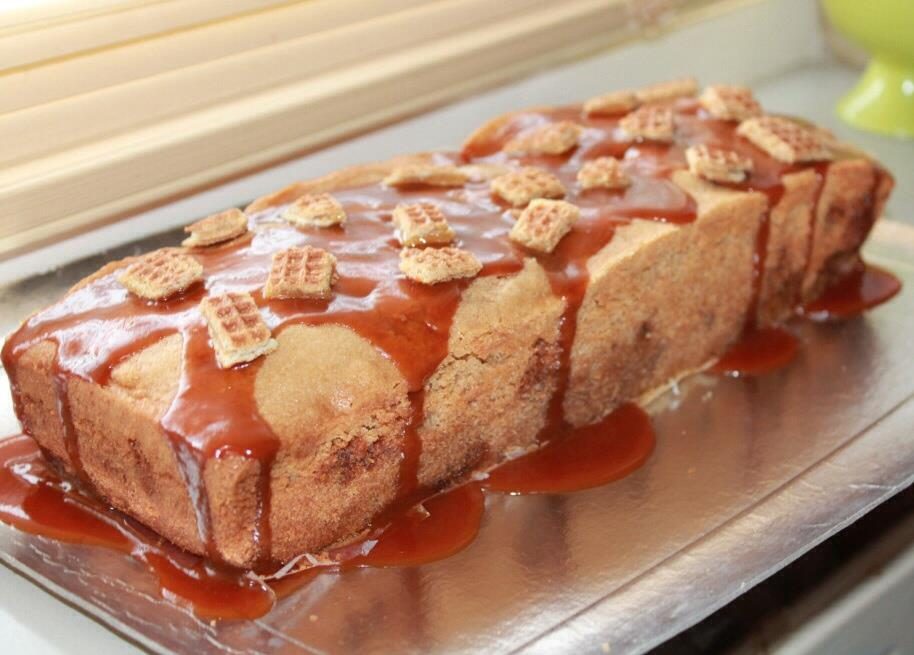 Stroopwafelcake
