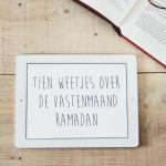 Tien weetjes over de vastenmaand Ramadan