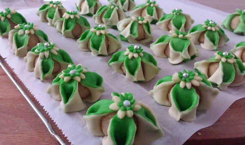 Algerijnse bloem koekjes