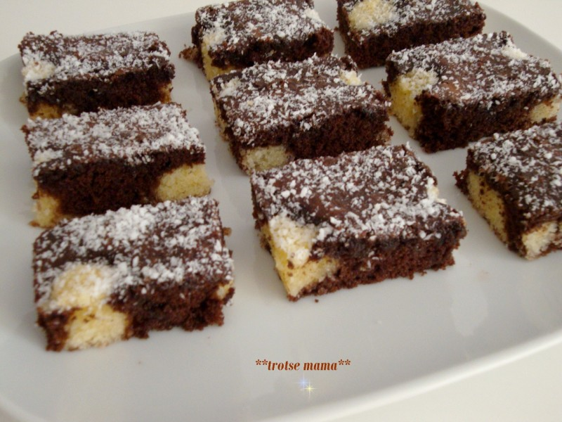 Choco Cocos Cake