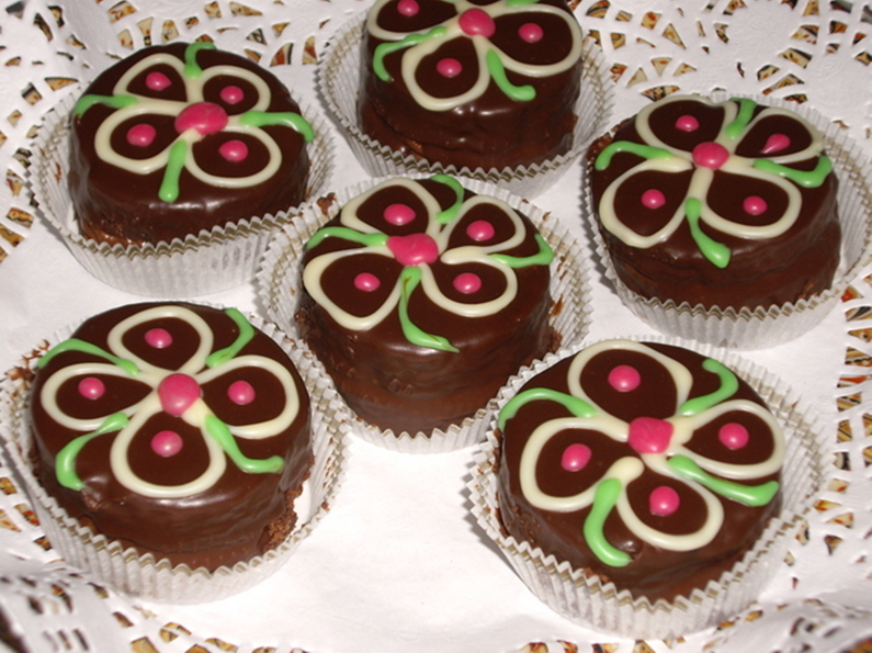Makkelijke chocoladegebakjes
