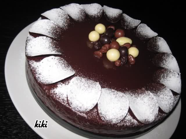 Chocoladetaart van paneermeel