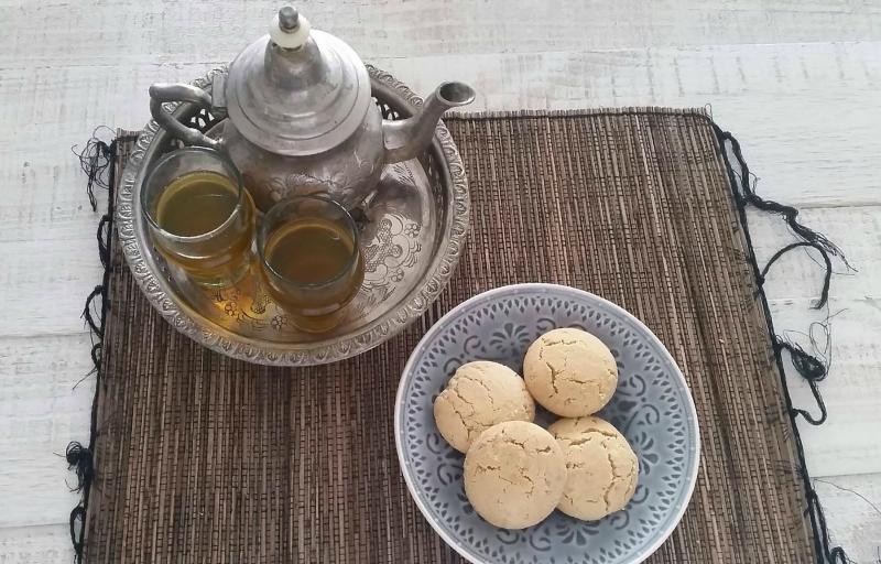 Makkelijkste Ghribia koekjes