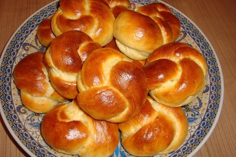 Zoete kwarkbroodjes