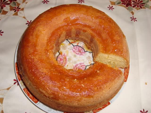 Cake met wortelsap