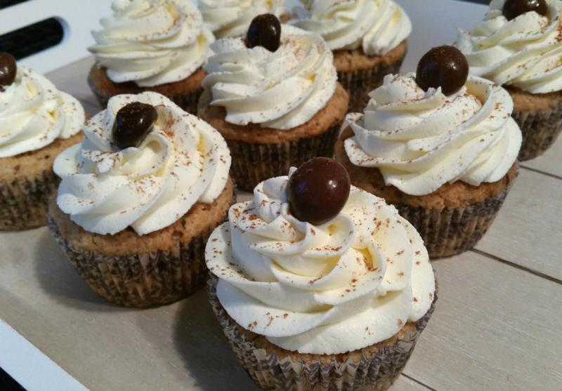 Kruidnoten / Pepernoten Cupcakes