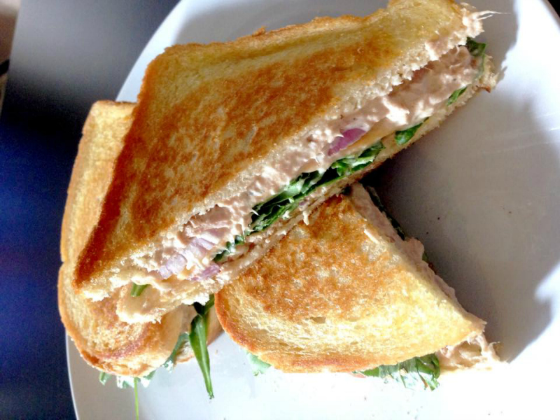 Lunchtip: Tuna Melt sandwich