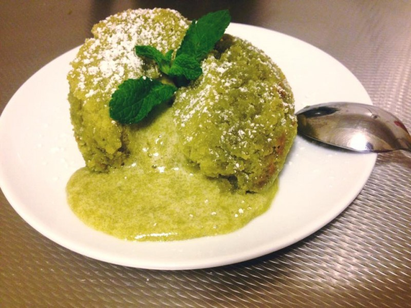 Green tea moelleux (Matcha)