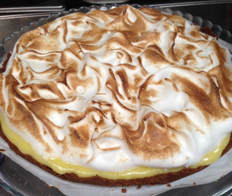 No Bake Lemon Meringue Pie