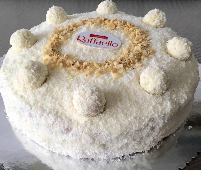 Raffaello taart