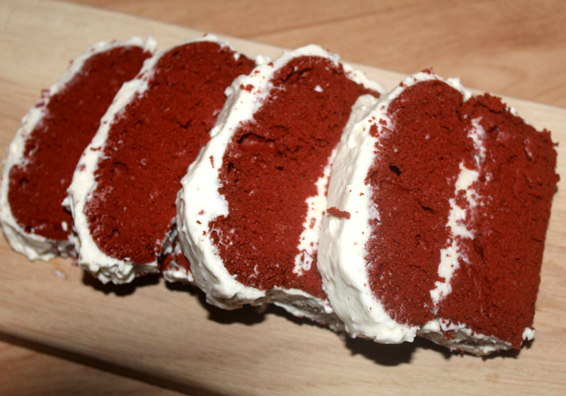 Red Velvet Cake met roomkaas frosting