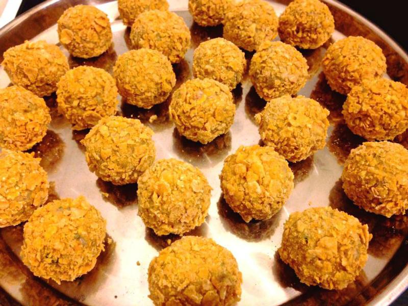 risottoballetjes met mozzarella recept 2