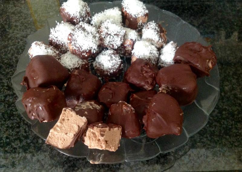 Nutella ijsbonbons