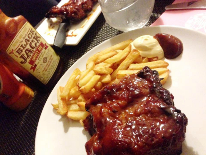 Sticky spareribs marinade