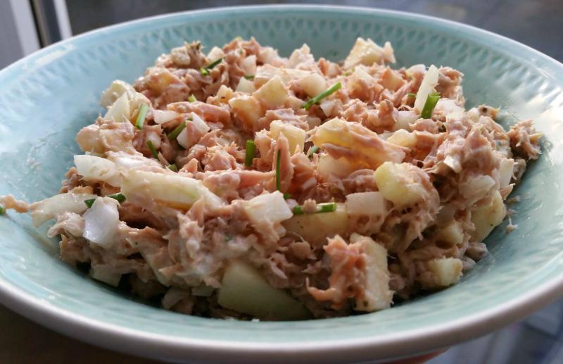 tonijnsalade la place recept v&d