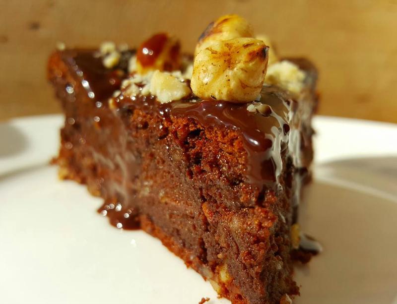 Torta alla Gianduia (Nutella taart)