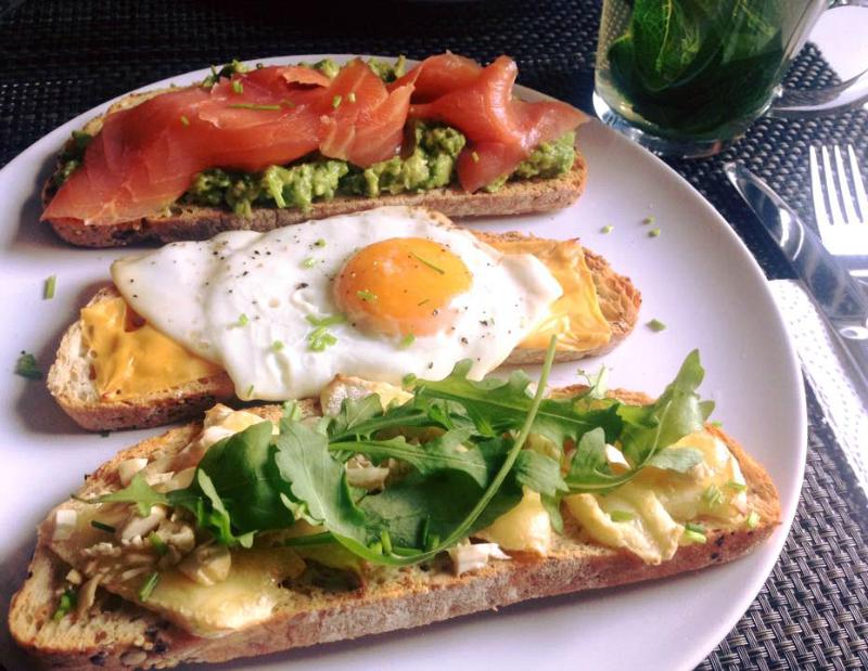 Suhoor tip | Trio van sandwiches