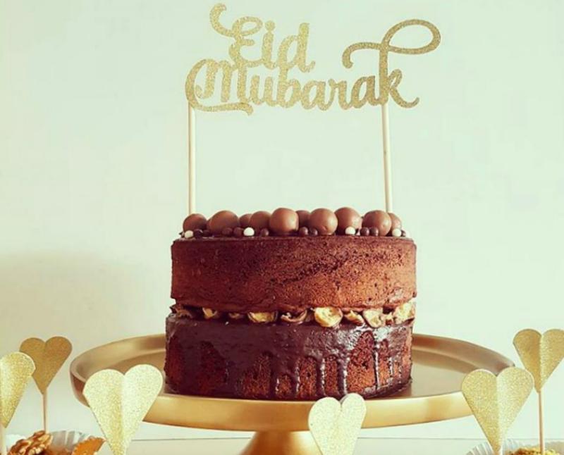 'Eid Mubarak' Maltesertaart