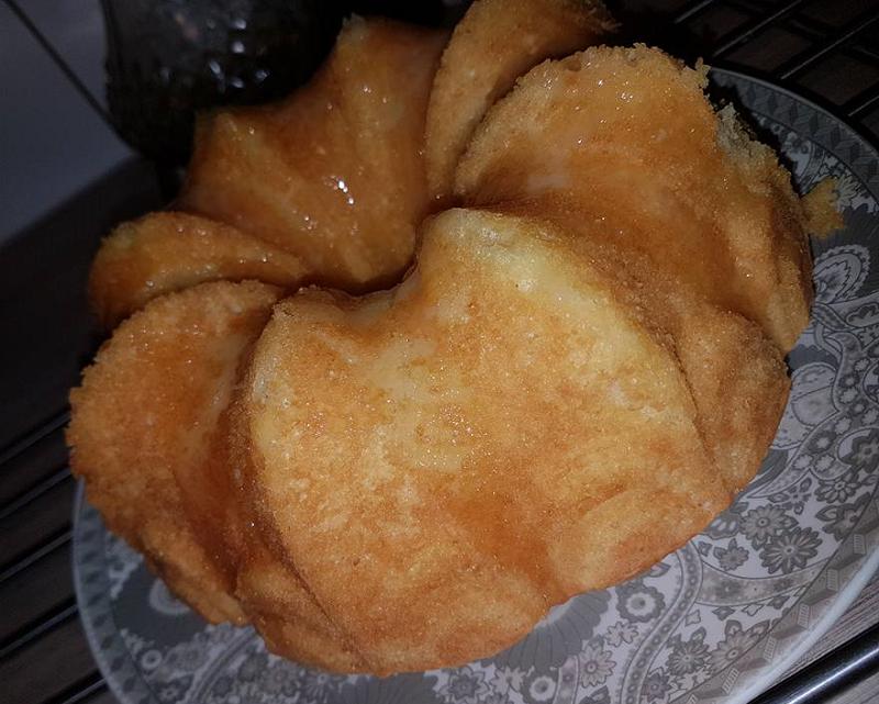Frisse citroencake