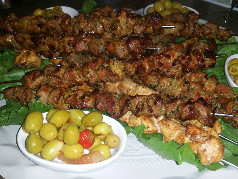 Shwa (Marokkaans gegrilde vleesspiesjes)