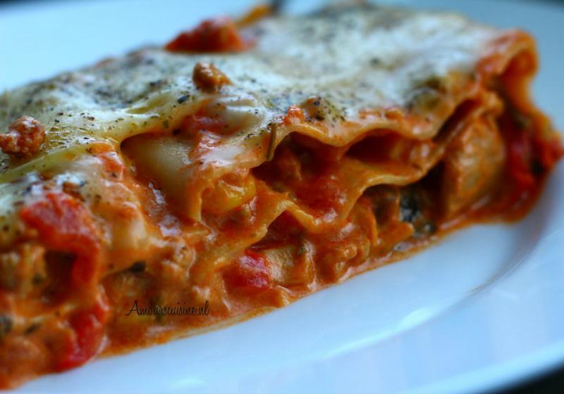 lasagne-groenten