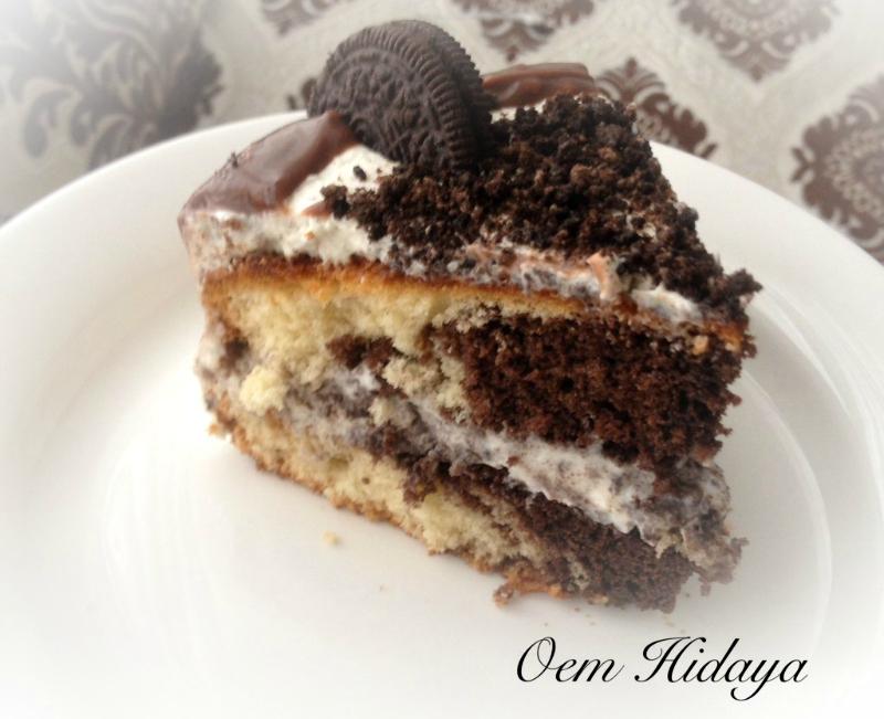 Oreo taart met mascarponevulling