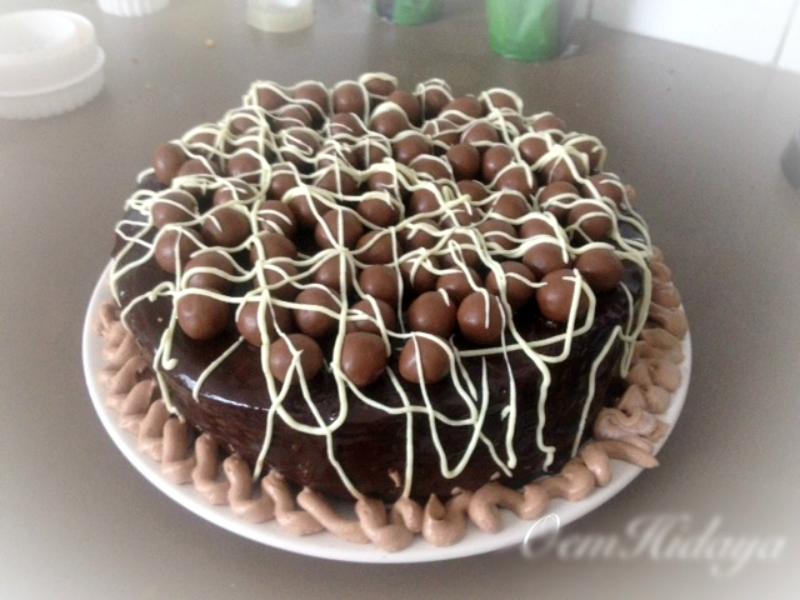 Malteser Nutella taart