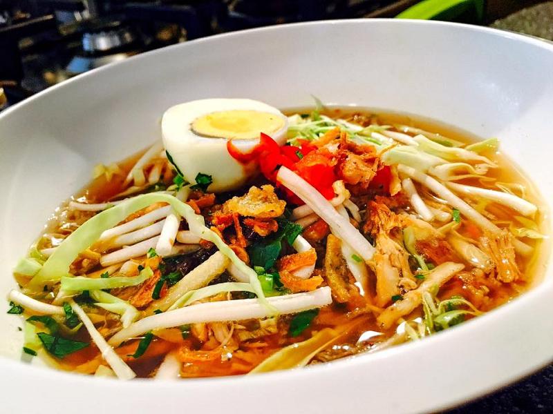 Surinaamse / Javaanse Saoto soep