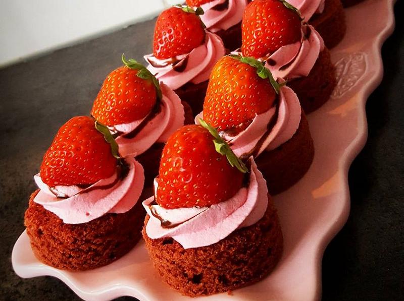Red Velvet gebakjes
