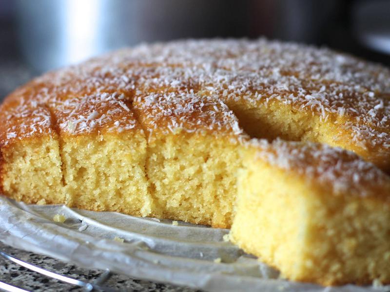 Griesmeel-vla cake