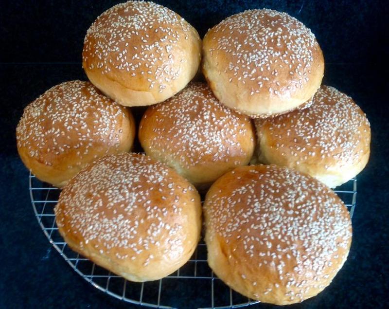 Zachte hamburgerbroodjes