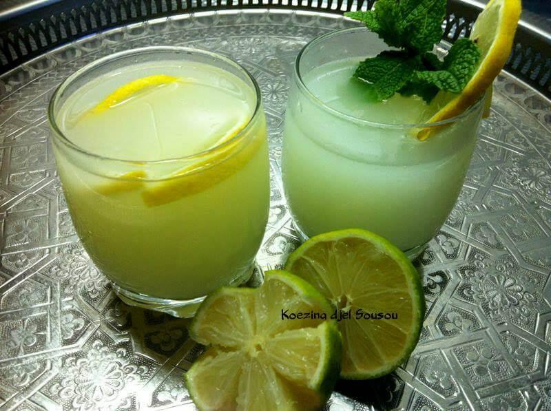 Verfrissende citroendrank (Citronella)