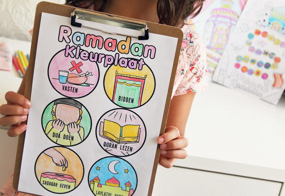 Kleurplaten Direct Printen.Freebie Ramadan Kleurplaten Voor Kids Ramadanrecepten Nl