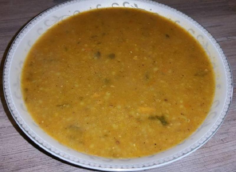 Broccolisoep met tchicha/iwzan