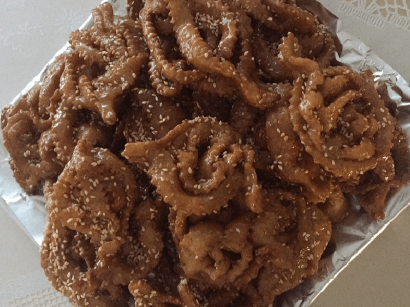 Chebakia (honingkoekjes)
