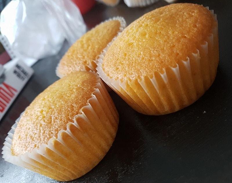 Basisrecept voor zachte vanille cupcakes