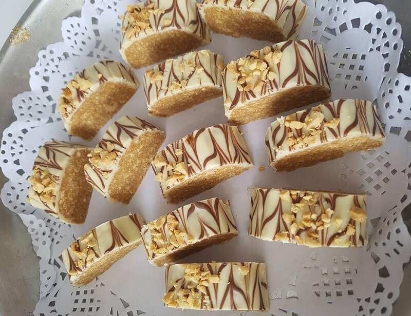 Gemarmerde snicker bonbons