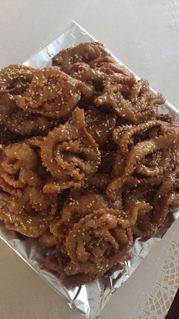 Privé: Marokkaanse honingkoekjes / chebakia