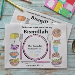 FREEBIE | Islamic Table Placemat