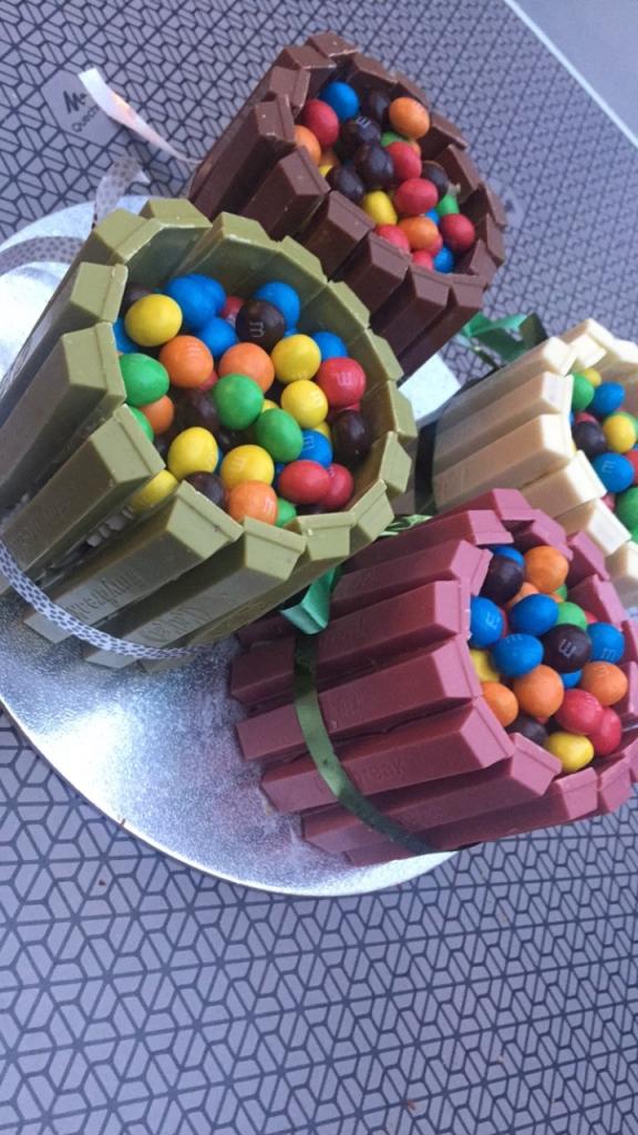 Privé: Kitkat mini cakejes