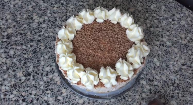 Privé: No bake kinderbueno cheesecake