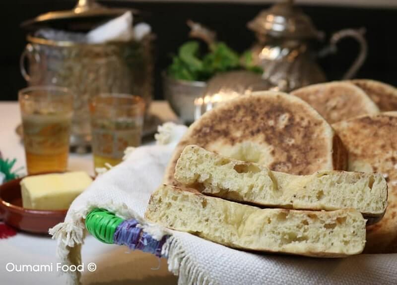 Marokkaans plaatbrood met zaden