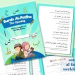 Het gebed: Surah al-Fatiha leren + gratis werkbladen