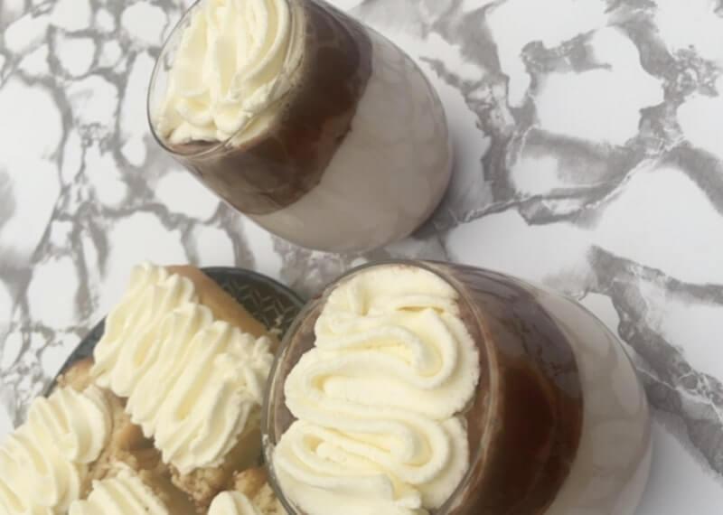 Dalgona chocolademelk (Chocolate Milk)