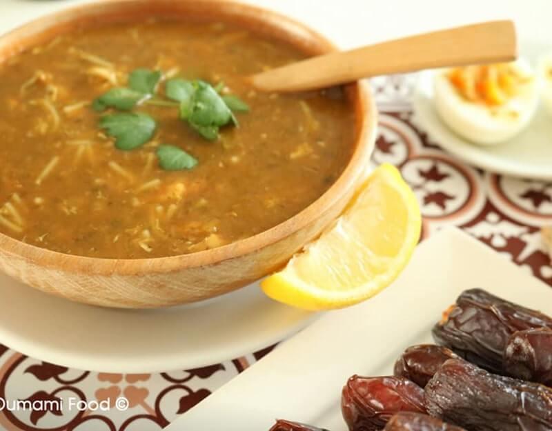 Harira met kip