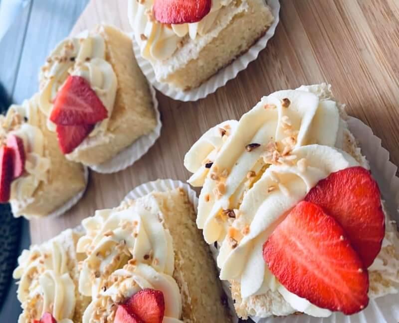Vanille gebakjes